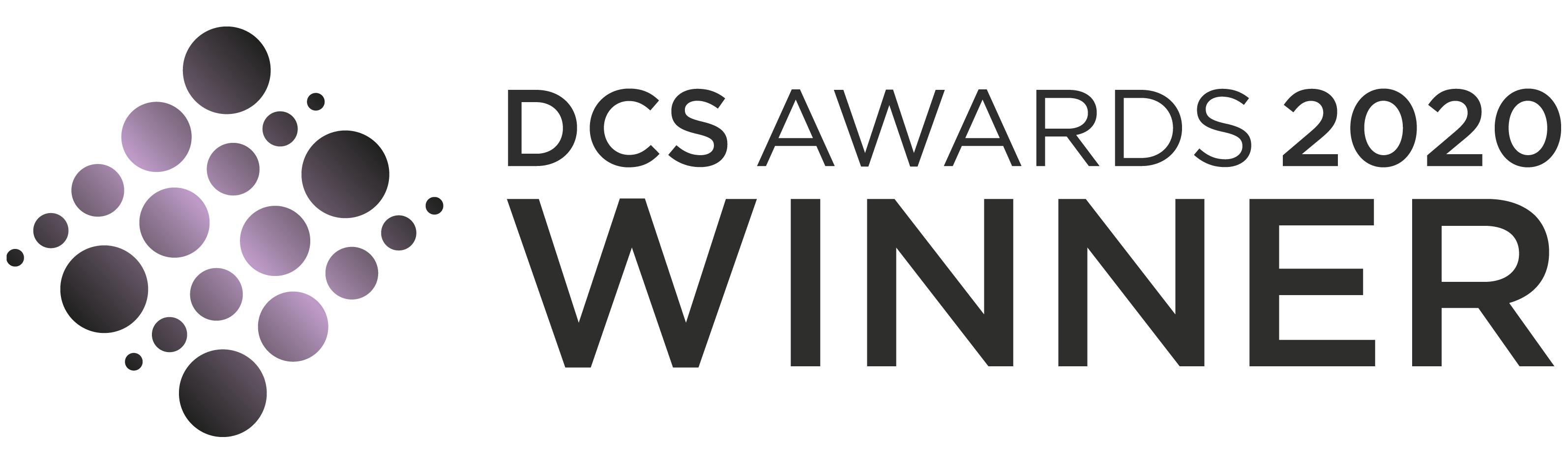 DCS Awards 2020 WINNER Logo HRZ