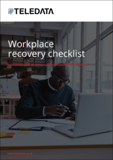 Workplace recovery checklist cover