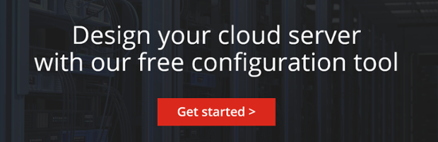 Design your cloud server with our free configuration tool