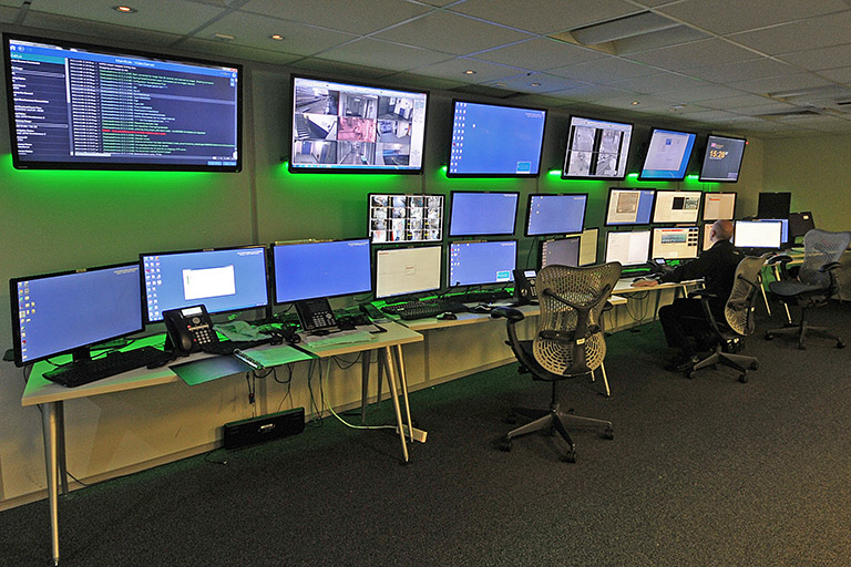 A police-linked control centre to protect your infrastructure and data