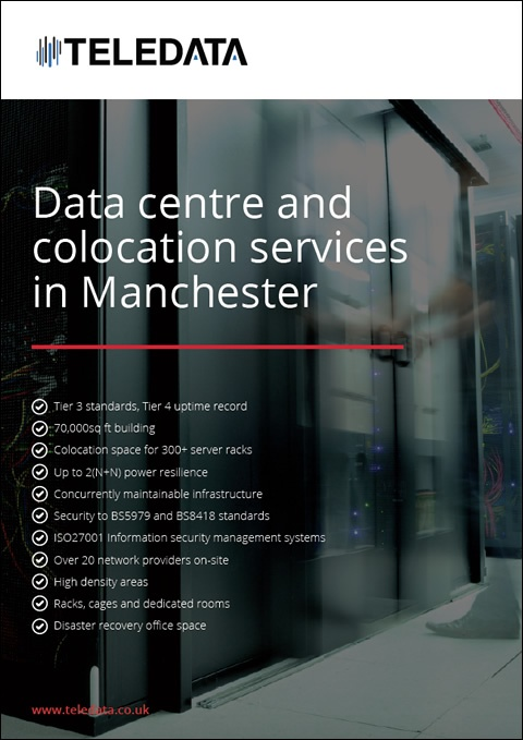 Data centre and colocation services in Manchester