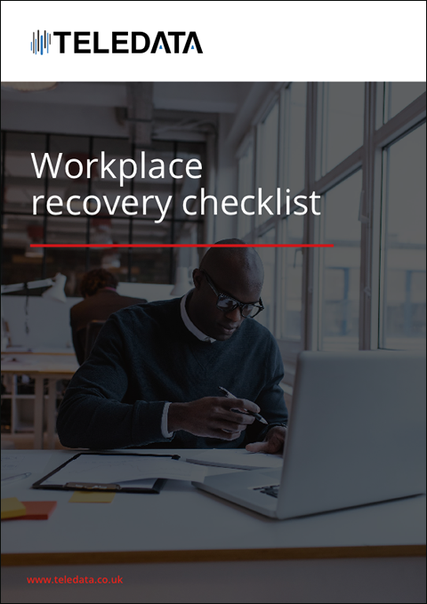 Workplace recovery checklist