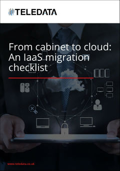 From cabinet to cloud: IaaS migration checklist