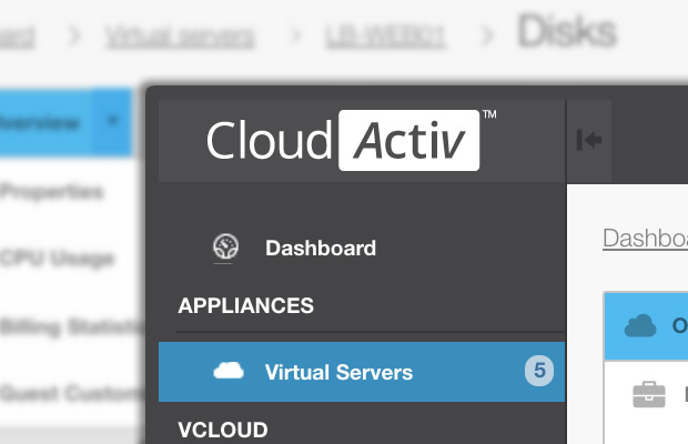 Introducing the CloudActiv customer portal