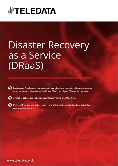 Disaster Recovery as a Service (DRaaS)