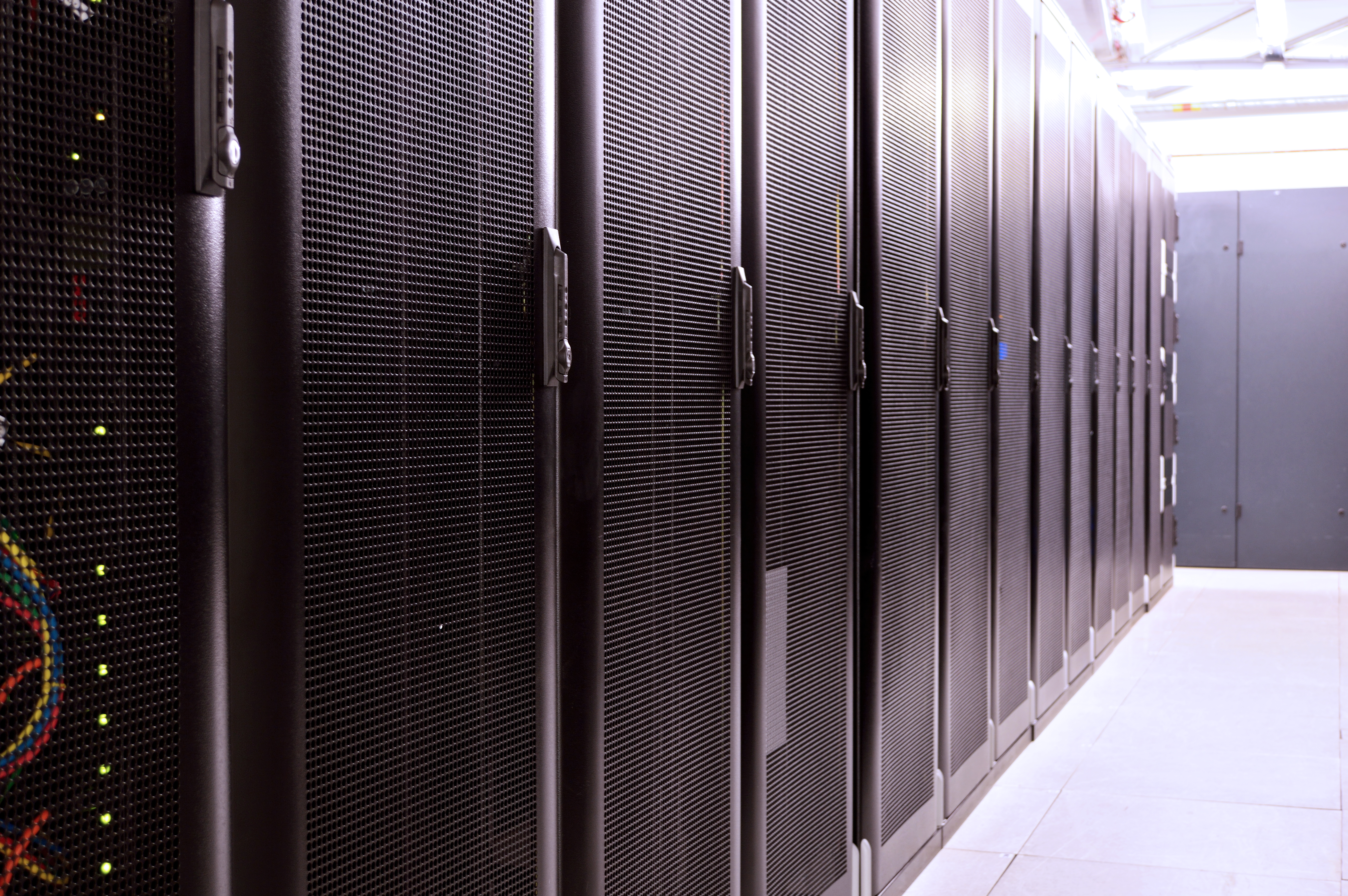 Inside the data centre...